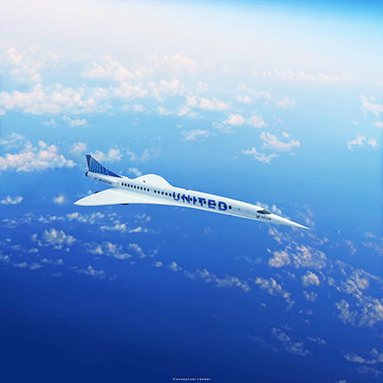 UNITED to buy aircraft from BOOM Supersonic